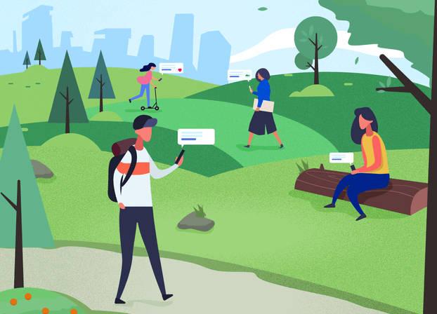 Social in the park